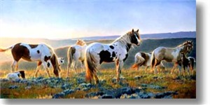 "Nancy Glazier Limited Edition Giclee: ""Welcome The Dawn"""