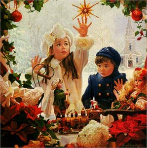 """Jean Monti Limited Edition Print: """"Christmas Wish"""""""