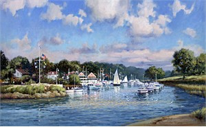 "Paul Landry Limited Edition Print:""Fairwinds"""