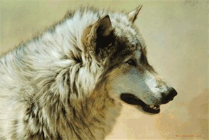 """Carl Brenders Handsigned & Numbered Limited Edition Print:""""Steadfast and Resolute"""""""