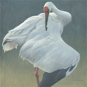 "Robert Bateman Limited Edition Giclee Canvas:""Defensive Stand"""