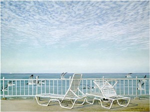 "Robert Bateman Limited Edition Paper Print:""Gulf Coast - Laughing Gulls"""