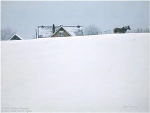"Robert Bateman Limited Edition Print:""Winter Coat"""