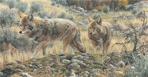 """Carl Brenders Limited Edition Print:""""Two Amigos"""""""