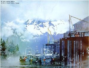 "Nita Engle Limited Edition Print:""Safe Harbor"""