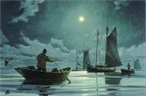 "Donald Demers Limited Edition Print:""Nightwatch"""