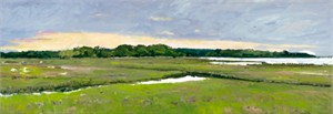 """H. Grey Park Handsigned and Numbered Limited Edition Giclee on Canvas:""""Early Spring Morning"""""""