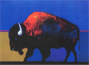 "John Neito Limited Edition Giclee on canvas:""Buffalo Medicine"""