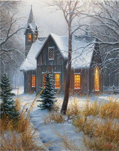 "Mark Keathley Handsigned & Numbered Limited Edition Canvas Giclee:""Newfound Memories I"""