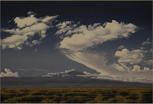 """Robert Ross Hand Signed and Numbered Limited Edition Giclee Canvas:"""" Clouds Of Kilimanjaro """""""