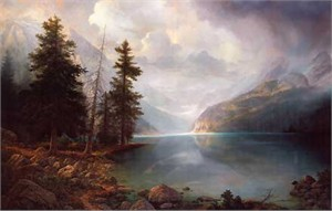 "Greg Olsen© Handsigned & Numbered Limited Edition AP Print:""Mountain Grandeur """