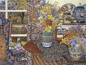 "John Powell Hand Signed and Numbered Limited Edition Serigraph on Paper:""My Favorite Things"""