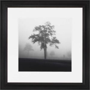 "Malanta Knowles Standard Framed Print: ""Fog Tree Study I"""