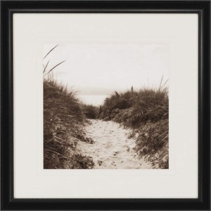 "Mark Thompson Designer Framed Print: ""Dune Path"""
