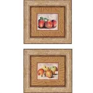 "Malanta Knowles Deluxe Framed Print: ""Fresco Fruit Pk/2"""