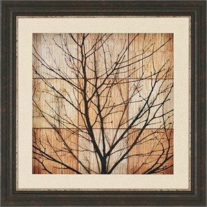 "Malanta Knowles Deluxe Framed Print: ""Tree Silhouette II"""