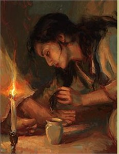 """Daniel Gerhartz Handsigned and Numbered Limited Edition Giclee on Canvas : """"Forgiven"""""""