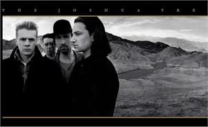 "U2 Rock Album Cover Art on Oversize Archival Canvas: ""The Joshua Tree"""