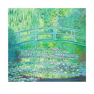 The Water Lily Pond with the Japanese Bridge 1899