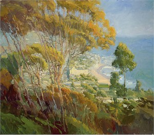"""Ken Auster  Handsigned & Numbered Limited Edition Canvas Giclee:""""Forest from the Trees"""""""