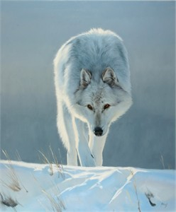 """Edward Aldrich Hand Signed and Numbered Limited Edition Giclee:""""Intent'"""""""