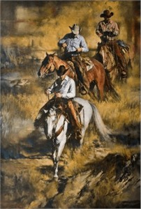 """Chris Owen Handsigned and Numbered Limited Edition Giclee Print:""""Rough Country"""""""