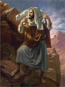 "James Seward Open Edition Print on Canvas:""Lamb of God"""