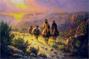 "G. Harvey Limited Edition Canvas: ""Spring in the Canyon"""