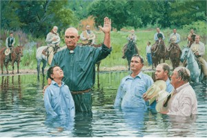 "Bruce Greene Artist Hand Signed Limted Edition Giclee:""In the Brazos de Dios """
