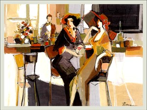 "Isaac Maimon Limited Edition Serigraph:""Cordials"""