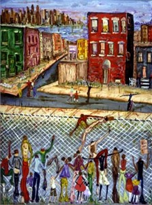 "David Dinkins Limited Edition Print:""The Other Side"""