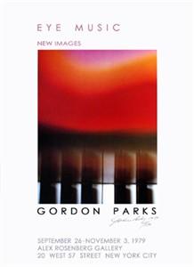 "Gordon Parks Limited Edition Signed Ed. 150:""Eye Music"""