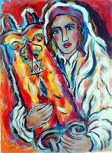"""Alex Meilichson Limited Edition Fine Art Print :""""Yeshive Bucher"""""""