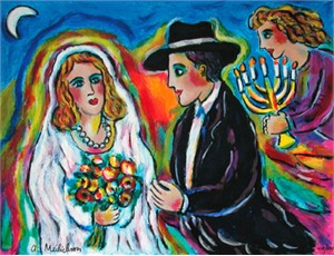 """Alex Meilichson Limited Edition Fine Art Print :""""Moonlight Wedding"""""""