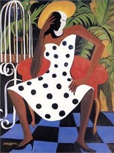 """Bernard Hoyes Fine Art Print:""""Her Own State of Grace"""""""