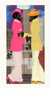 """Willie Torbert Limited Edition Signed Giclee Ed. 275:""""Brothers Ballin' """""""