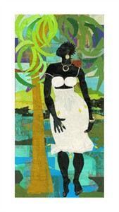 "Willie Torbert Limited Edition Signed Giclee:""The Wind Beneath My Feet"""