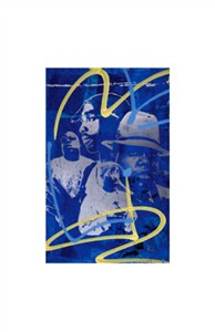 "Bobby Hill Limited Edition Pencil Signed Artist's Proof Giclee:""Biggie & Tupac"""