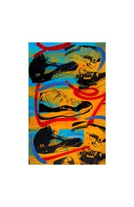 """Bobby Hill Limited Edition Pencil Signed Artist's Proof Giclee:""""Jordans"""""""