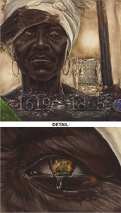 "Kevin A. Williams (WAK) Limited Edition Signed Lithograph Ed. 850:""The Worst Sight: Generations Lost"""
