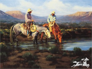 "Bruce Graham Limited Edition Print:"" Sagebrush Stories"""