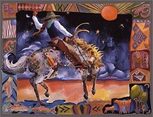 """Nancy Cawdrey Handsigned & Numbered Limited Edition:""""Maggie And Night Storm"""""""