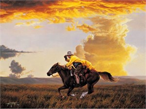 "Nancy Cawdrey Handsigned & Numbered Limited EditION Giclee on Paper:""Stillwater Colt"""
