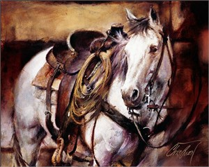 """Chris Owen Hand Signed and Numbered Limited Edition Giclee Print and Canvas :""""Standing By"""""""
