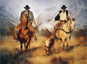 "Chris Owen Hand Signed and Numbered Limited Edition Giclee Print and Canvas :""Back to Your Momma"""