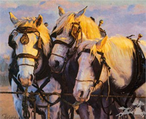 "Ron Riddick Hand Signed & Numbered Limited Edition on Paper:""Dawn's Early Light"""