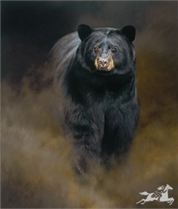 """Edward Aldrich Handsigned & Numbered Limited Edition Canvas Giclee:""""Trouble Brewin'"""""""