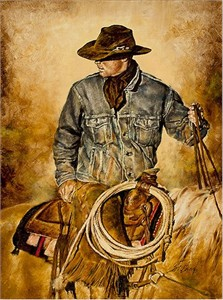 "Chris Owen Hand Signed and Numbered Limited Edition Giclee Print and Canvas :""Traditions"""