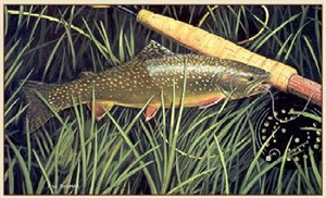 """Fred W.Thomas Artist Proof  Print: """"Catch and Release"""""""