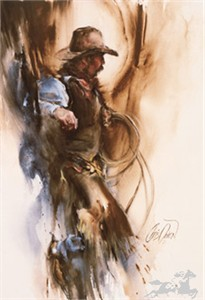 """Chris Owen Limited Edition Print:""""At The Branding"""""""
